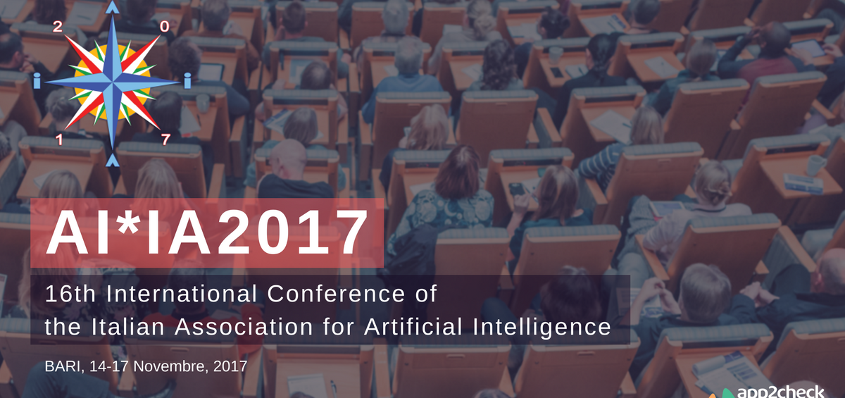 App2check presents at AI*IA2017